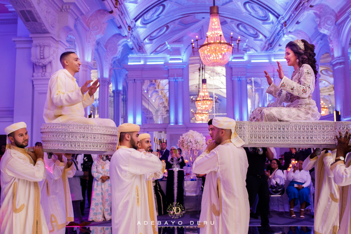 Jayson & Hind's Moroccan wedding: Grand Connaught Rooms