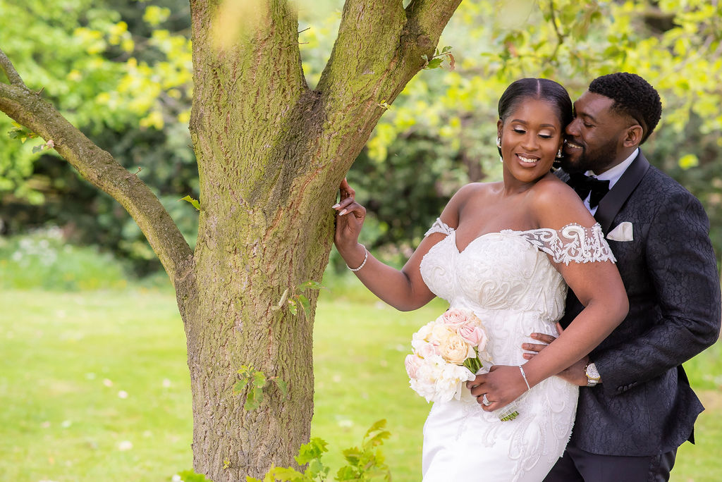Kemi & Omar's White Wedding